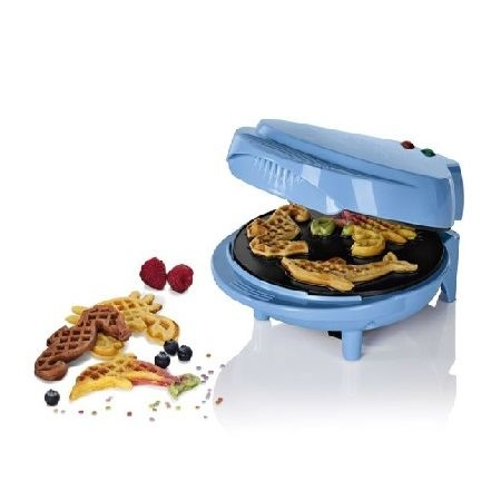 Silvercrest Motif Waffle Maker Blue 800-1000 W