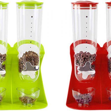 Fresh & Easy Double Cereal Cylinder Dispenser