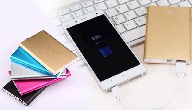 Портативная батарея Xiaomi 12000 mAh «Розовая»