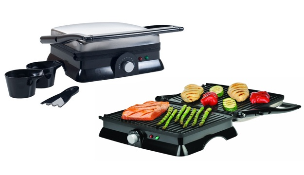 43% Off Sandwich Press & Non-Stick Grill SW-60 28 x 23cm (Only $40 instead of $70)