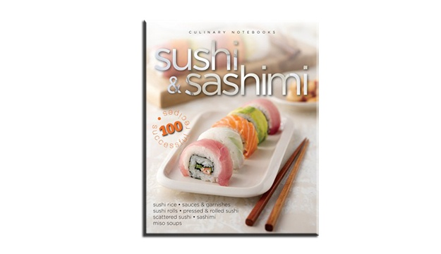 50% Off Culinary Notebooks: Sushi & Sashimi (Only $12.5 instead of $25)