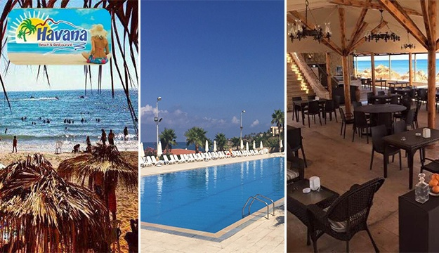50 Off Beach Pool Entrance From Havana Resort Rmeileh Only 6 Instead Of 13