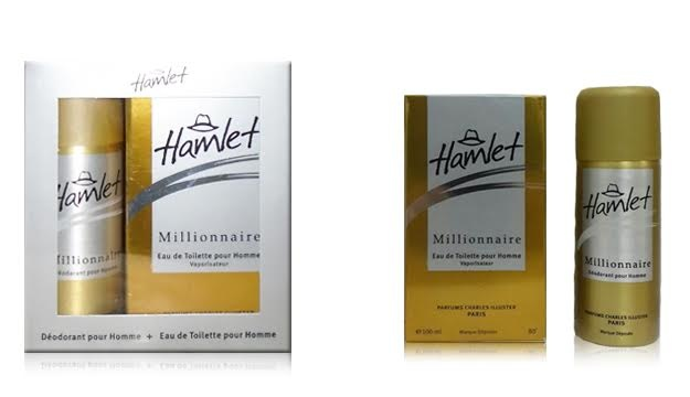 23 Off Hamlet Millionaire Edt 100ml Deo 150ml Free Only 10