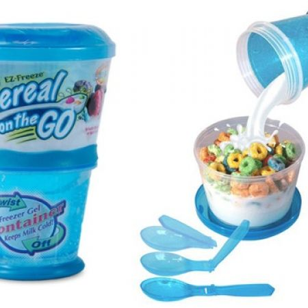 58% Off EZ-Freeze Cereal To Go (Only $5.5 instead of $13)