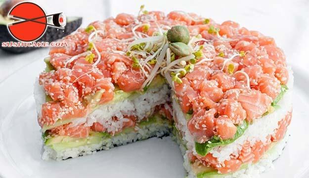 Sushi Cake Lebanon