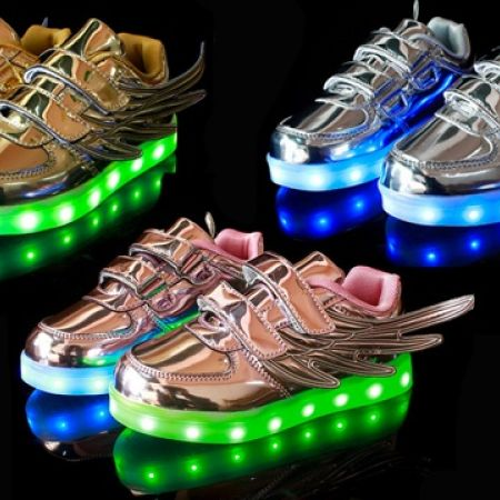 newest 366ab a447b 38% Off Unisex LED Wings Light Up Shoes (Only  75 instead of  120)