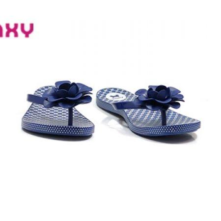 b7da0f6e6bfc 8% Off Zaxy Fresh Flower Flip-flops - Blue (Only  23 instead of  25)