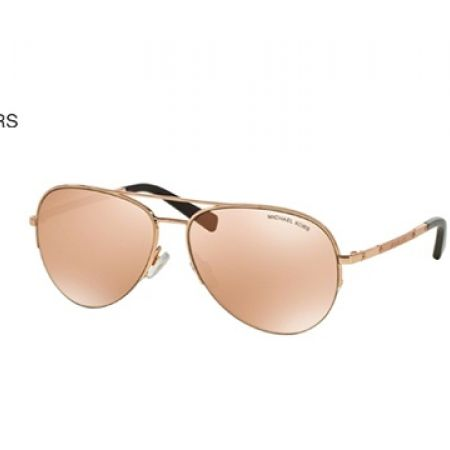 14498fe0887 30% Off Michael Kors Gramercy Sunglasses – Rose Gold (Only  221 instead of   315)