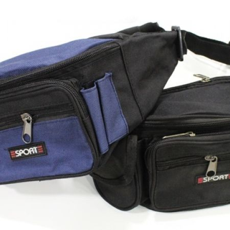 50% Off Sport Waist Pack - Navy Blue (Only $5.5 instead of $11)