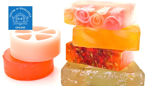 95% Off Online Soap Making Course from Centre of Excellence