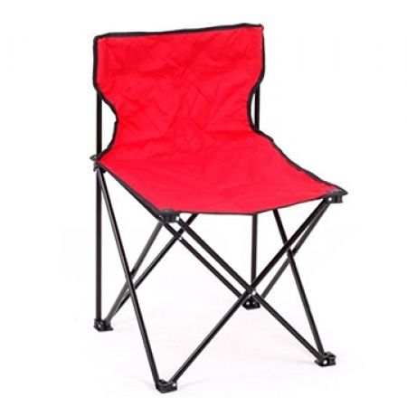 40% Off Portable Folding Camping Chair Without Armrest - Red (Only $9 instead of $15)