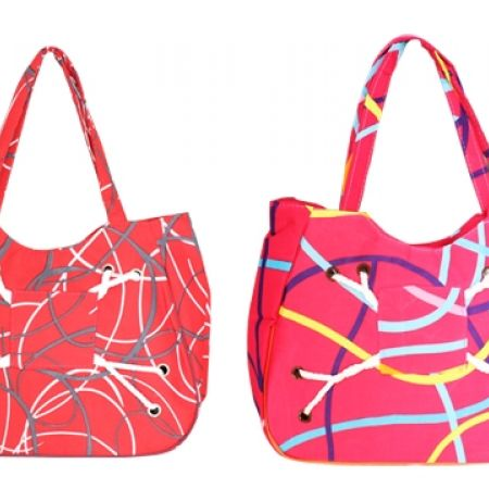 50% Off Beach Bag - Red (Only $5 instead of $10)
