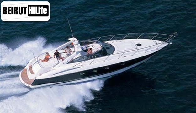 50% Off 8-hour Luxury Yacht Cruise on 46 foot Sunseeker from Hi-Life, Dbayeh Marina (Only $1750 instead of $3500)