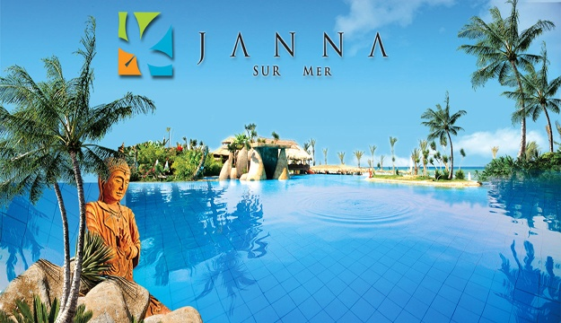 51% Off Weekday Beach Pass for 2 + A bottle of Wine or a Bowl of Exotic Fruits from Janna Sur Mer, Damour (Only $36 instead of $73)