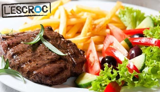 50% Off International & Lebanese Cuisine from L'Escroc Achrafieh (Only $10 instead of $20)