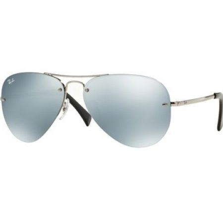 20dc3f4d19 10% Off Ray-Ban Rimless Aviator Sunglasses – Silver Mirror Size 59 (Only   221 instead of  245)