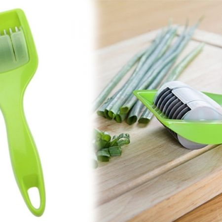 Herb Roller Cutter Handle with Stainless Steel Blade