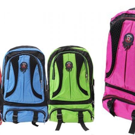 Sport Backpack - Fuchsia & Black