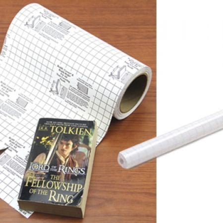 38% Off Self-adhesive Book Cover – 45cmx3m Roll (Only $2.5 instead of $4)