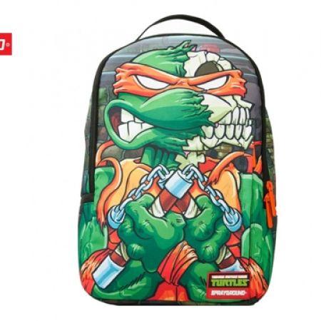 b165539b030 Sprayground Backpack TMNT Leo Skull DLX (Only $78) - Makhsoom