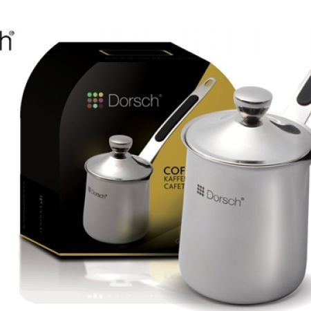 27% Off Dorsch Stainless Steel Coffee Pot - 6.oz (Only $9.5 instead of $13)