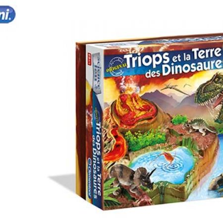 Clementoni Triops And The Land Of Dinosaurs