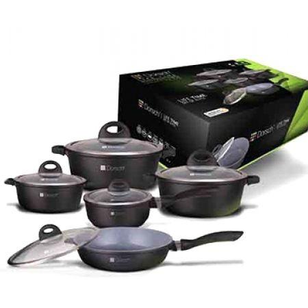 30% Off Dorsch Cookware Ceramic Set - 5 pcs (Only $130 instead of $185)