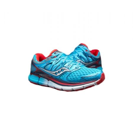 36% Off Saucony Triumph ISO M Running Shoes for Women - Blue/Red/Silver - 36 (Only $103 instead of $160)
