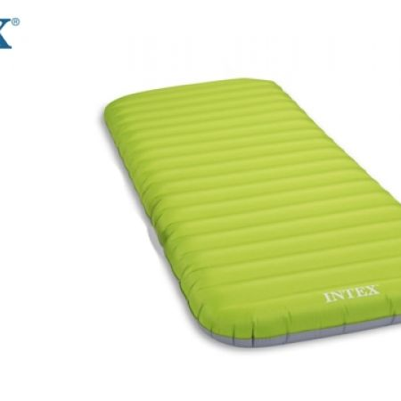 Intex JR Twin Roll N Go Airbed with Combo Pump 76X191X13cm