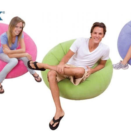 21% Off Intex Beanless Bag Chair - Purple (Only $31 instead of $39)