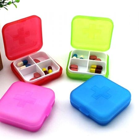 24% Off Pill Boxes - Red (Only $2.5 instead of $3.3)