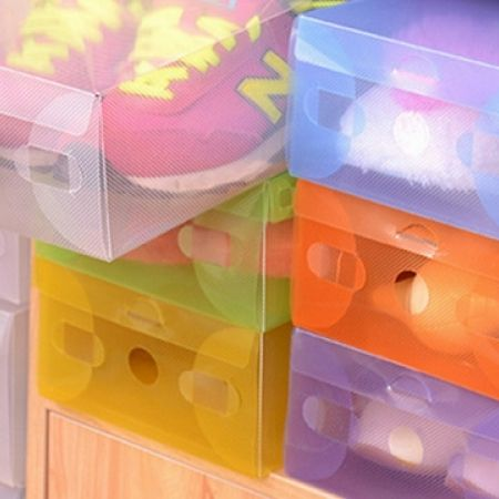 38% Off Set of 2 Shoes Boxes - White (Only $2.5 instead of $4)