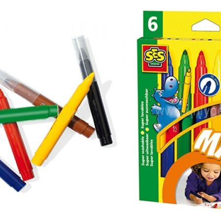 18% Off SES Marker Pens Super Maxi - 6 Colors (Only $9 instead of $11)