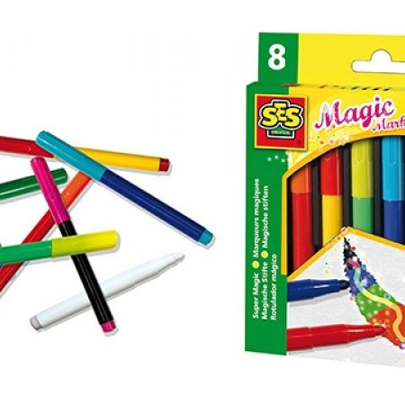 18% Off SES Magic Markers Maxi - 8 Colors (Only $9 instead of $11)