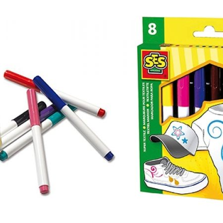 20% Off SES Super Textile Crayons - 8 Colors (Only $12 instead of $15)