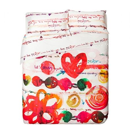 40% Off Desigual Love Party Duvet Set - Single (Only $113 instead of $189)
