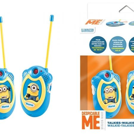 9% Off Lexibook Despicable Me Walkie-Talkie - Blue/Yellow (Only $41 instead of $45)