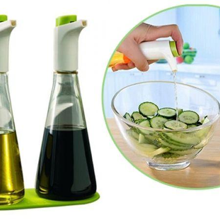 2 Piece Set Oil & Vinegar Bottle