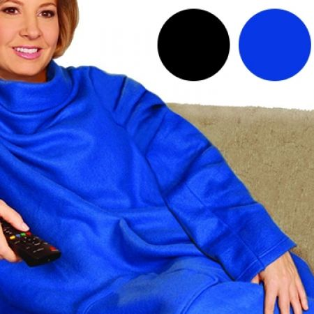39% Off Snuggie Blanket - Blue (Only $11 instead of $18)