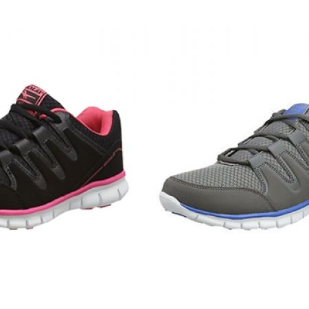 51% Off Gola Amhurst Ladies Termas 2 Lace-Up Running Trainer - Black/Pink - 36 (Only $49 instead of $99)