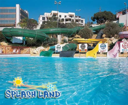 Drizzling land water and amusement park discount coupons