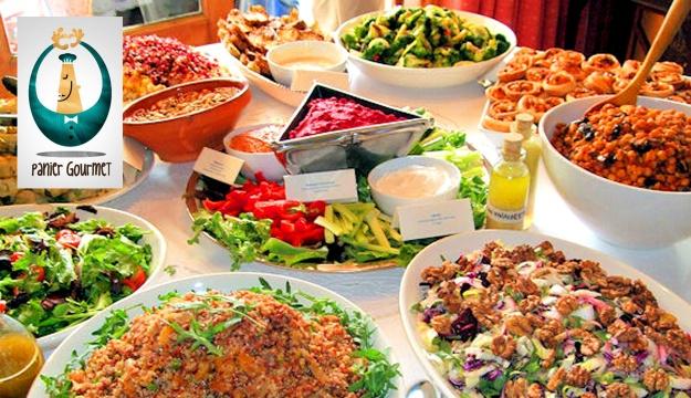 50 off lebanese international cuisine open buffet from for Gourmet dinner menu ideas