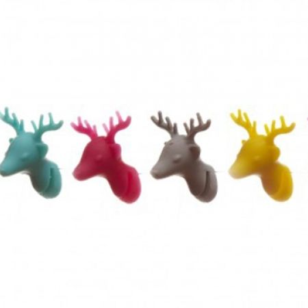 43% Off Gift Concepts Set of 6 Deer Glass Markers (Only $8 instead of $14)