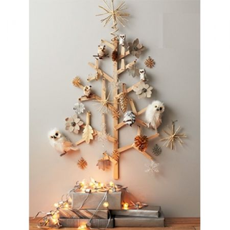 23 Off West Elm Wall Christmas Tree 150x80 Cm Only 40