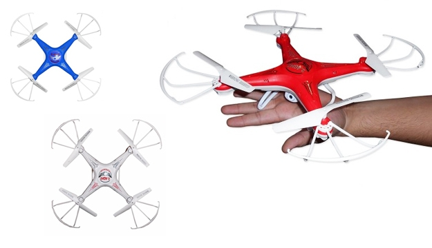 27% Off Quadcopter Hit-Resistant Without Camera TD-05 - Blue (Only $33 instead of $45)
