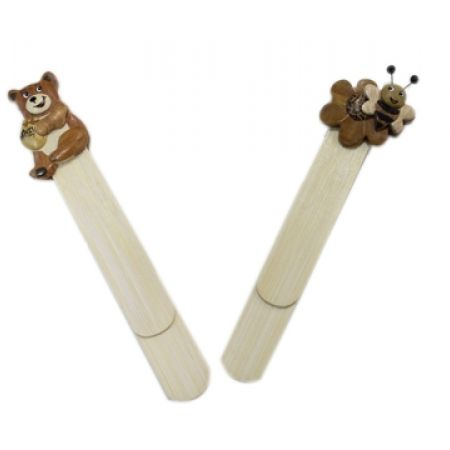 33% Off Wooden Bookmark - Teddy Bear (Only $2 instead of $3)