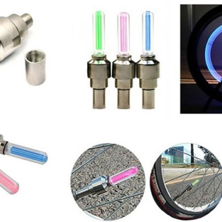 33% Off Bicycle Wheel Led Light - Pink (Only $2 instead of $3)