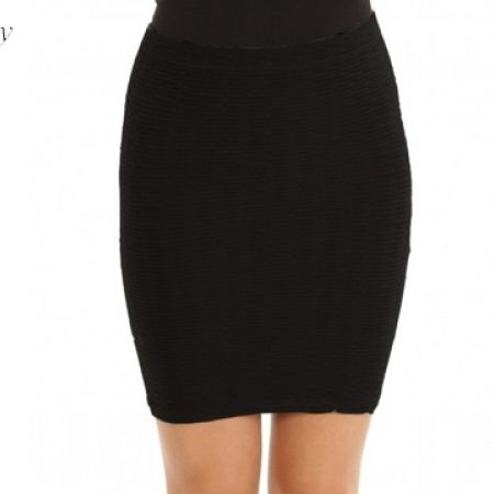 Johnny Grey Mini Skirt - One Size - Beige (Only $10.00)