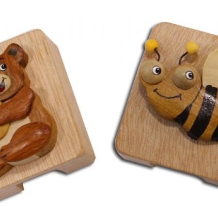 25% Off Wood Pencil Sharpener - Teddy Bear (Only $3 instead of $4)