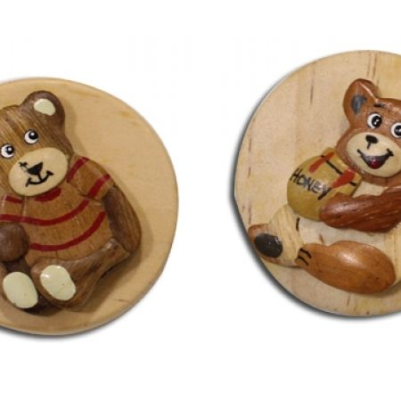 27% Off Wood Paper Clipper - Teddy Bear (Only $4 instead of $5.50)